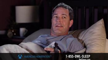 American HomePatient TV Spot, 'Owl Sleep' - Thumbnail 9