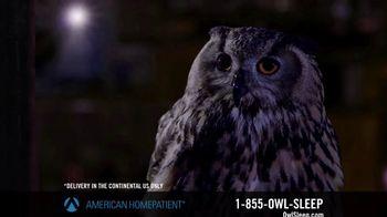 American HomePatient TV Spot, 'Owl Sleep'