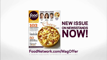 Food Network Magazine TV Spot, 'Cheese Issue' - Thumbnail 10