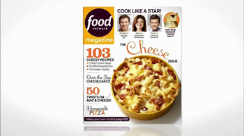 Food Network Magazine TV Spot, 'Cheese Issue' - Thumbnail 2