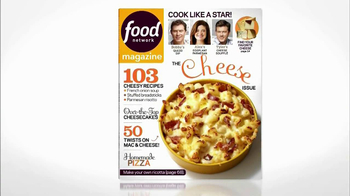 Food Network Magazine TV Spot, 'Cheese Issue'