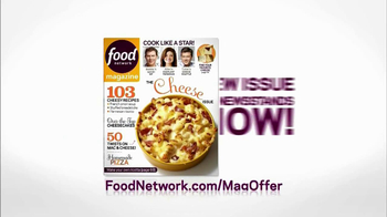 Food Network Magazine TV Spot, 'Cheese Issue' - Thumbnail 9