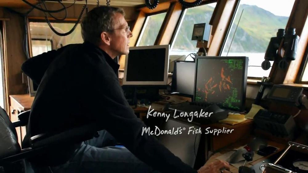 McDonald's TV Commercial 'Bering Sea Fisherman'