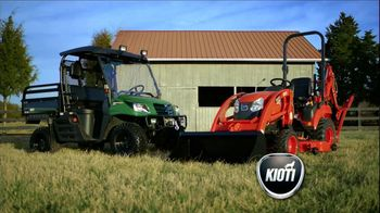 Kioti Tractors TV Spot, 'Horses'