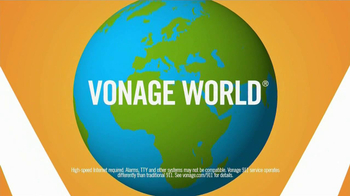 Vonage World TV Spot, 'Across the Ocean'