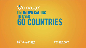 Vonage World TV Spot, 'Across the Ocean' - Thumbnail 4
