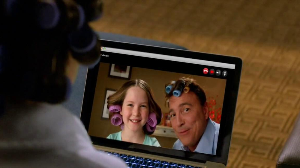 Choice Hotels TV Commercial, 'Video Call, Husband with Hair Curlers' - Video