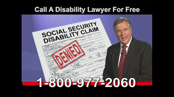 Lawyers Group TV Spot, 'Disability'