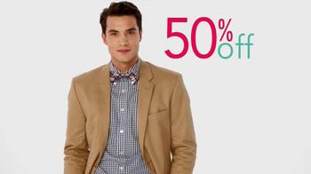 Kohl's Grand Opening Sale TV Spot, 'Vera Wang, Jeans, Men's Suits' - Thumbnail 5