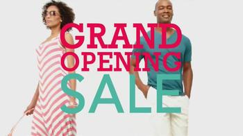 Kohl's Grand Opening Sale TV Spot, 'Vera Wang, Jeans, Men's Suits' - Thumbnail 8