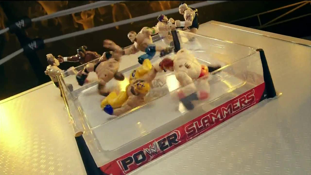 WWE Power Slammers TV Commercial Featuring Sheamus and Rey Mysterio