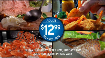 Golden Corral Prime Rib and Shrimp Weekend TV Spot  - Thumbnail 8