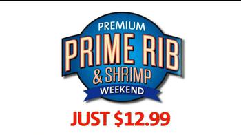 Golden Corral Prime Rib and Shrimp Weekend TV Spot