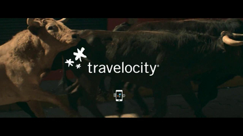 Travelocity TV Spot 'Running with the Bulls' - Thumbnail 8