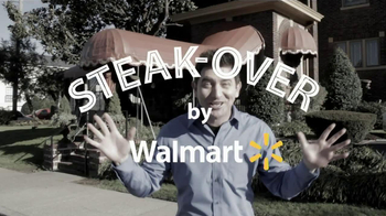 Walmart TV Spot, 'Steak-Over'