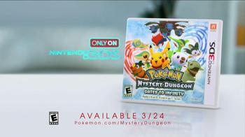 Nintendo Pokemon Mystery Dungeon: Gates to Infinity TV Spot, 'The Future' - Thumbnail 10