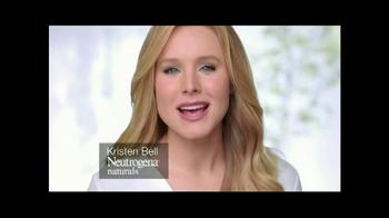 Neutrogena Naturals TV Spot Featuring Kristen Bell  - Thumbnail 2
