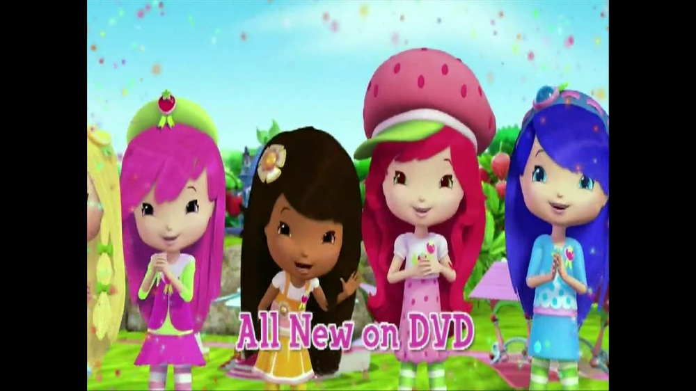 Strawberry Shortcake Berry Friends Forever Dvd Tv Commercial