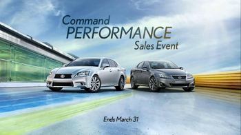 Lexus Command Performance Sales Event TV Spot, 'Experience Performance'  - Thumbnail 10