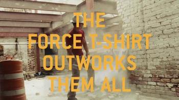 Carhartt Force T-Shirt TV Spot, 'Work, Not Recreation' - Thumbnail 9