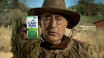 Clear Eyes TV Spot, \'Scarcrow\' Featuring Ben Stein
