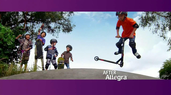 Children's Allegra Allergy TV Spot, 'Skateboarding'