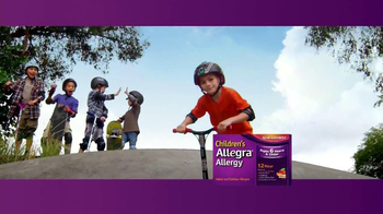 Children's Allegra Allergy TV Spot, 'Skateboarding' - Thumbnail 4