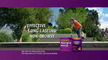 Children's Allegra Allergy TV Spot, 'Skateboarding' - Thumbnail 5