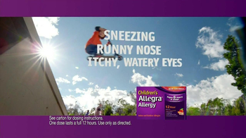 Children's Allegra Allergy TV Spot, 'Skateboarding' - Thumbnail 6