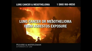 Pulaski & Middleman TV Spot, 'Government Study: Lung Cancer & Mesothelioma' - Thumbnail 3