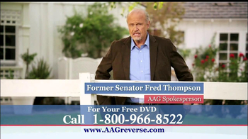 American Advisors Group TV Spot, 'Years' Featuring Fred Thompson - Thumbnail 1