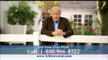 American Advisors Group TV Spot, 'Years' Featuring Fred Thompson - 25 commercial airings