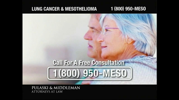 Pulaski & Middleman TV Spot, 'Lung Cancer and Mesothelioma'  - Thumbnail 7