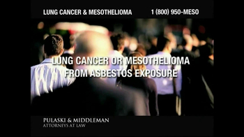 Pulaski & Middleman TV Spot, 'Lung Cancer and Mesothelioma'  - Thumbnail 4