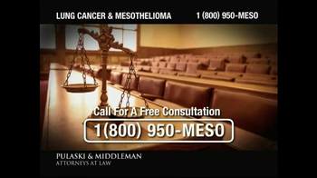 Pulaski & Middleman TV Spot, 'Lung Cancer and Mesothelioma'  - Thumbnail 5