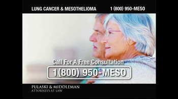Pulaski & Middleman TV Spot, 'Lung Cancer and Mesothelioma'  - Thumbnail 6