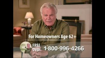 Reverse Mortgage TV Spot, 'Loans' Featuring Robert Wagner