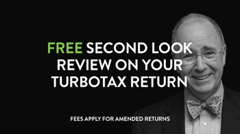 H&R Block Second Look TV Spot, 'TurboTax' - 195 commercial airings