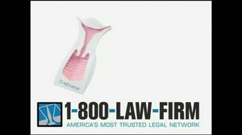 1-800-LAW-FIRM TV Spot, 'Mirena IUD'