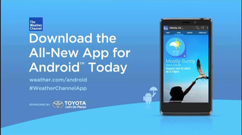 The Weather Channel App for Android TV Spot - Thumbnail 10