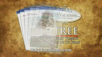 ItalyVacations.com TV Spot, 'Your Italy, Your Way' Feat. Steve Perillo - Thumbnail 10