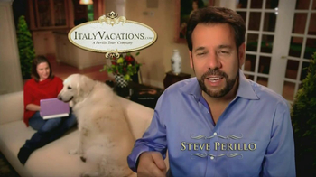 ItalyVacations.com TV Spot, 'Your Italy, Your Way' Feat. Steve Perillo