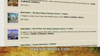 ItalyVacations.com TV Spot, 'Your Italy, Your Way' Feat. Steve Perillo - Thumbnail 5