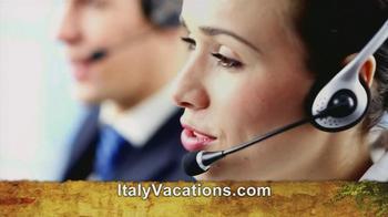 ItalyVacations.com TV Spot, 'Your Italy, Your Way' Feat. Steve Perillo - Thumbnail 8