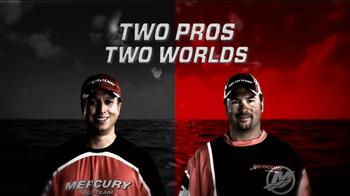 Mercury Marine TV Spot, 'Two Worlds' Featuring Brent Ehrler, Fred Roumbanis