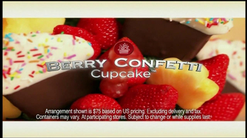 Edible Arrangements TV Spot for Berry Confetti Cupcake