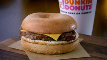 Dunkin' Donuts Angus Steak & Egg TV Spot, 'Fellow-Steak-Lover Handshake' - Thumbnail 10