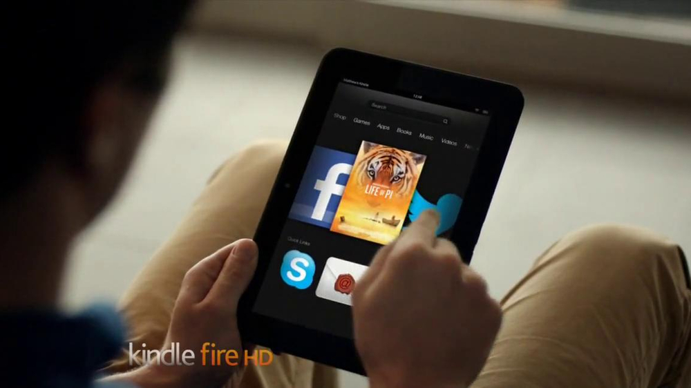Amazon Kindle Fire HD TV Commercial, 'Read This, Play That' - Video
