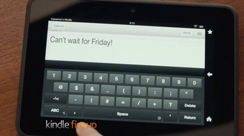 Amazon Kindle Fire HD TV Spot, 'Read This, Play That' - Thumbnail 9