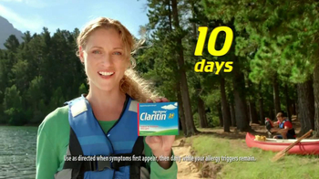 Claritin Clear Challenge TV Spot, '10 Days' - Thumbnail 2